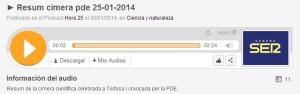 1401_Resum Cimera PDE_Cadena Ser